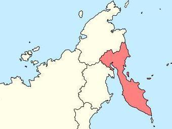 Камчатский край на карте России. Изображение с сайта wikimedia.org