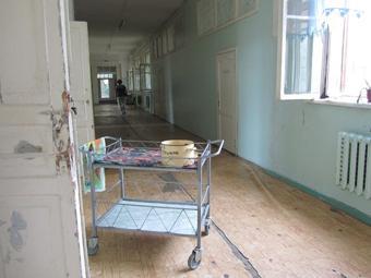 Коридор воронежской горбольницы №3. Фото dorinem