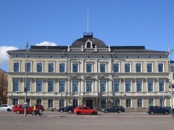 Здание Верховного суда Финляндии в Хельсинки